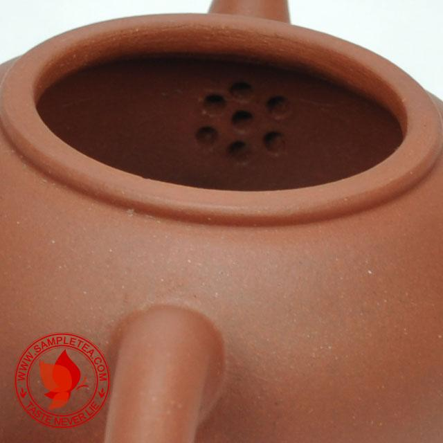 chinese tea 1990's Huang Long Shan Hong Pi Long Shui Ping Hu Teapot, 60ml (Mao Mei Zhen) @ www.sampletea.com