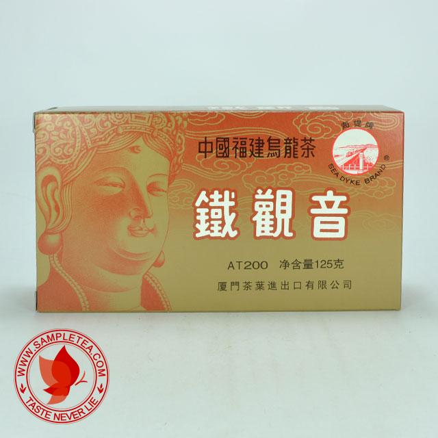 chinese tea 2011 Sea Dyke Brand Ti Kuan Yin (Tie Guan Yin), Oolong Tea (AT200) @ www.sampletea.com