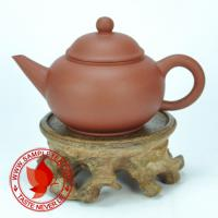 Chinese tea 1990's Yixing Factory 5 Hongni Shui Ping Hu Teapot, 60ml