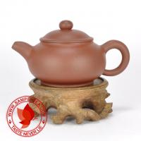 Chinese tea 1990's Yixing Factory 5 Qing Shui Ni Pan Hu Teapot, 70ml (Wu Cai Di)