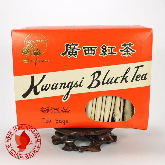 chinese tea 1970's Xiang Yang Hua Kwangsi Hong Cha Red Tea Bag, (2 Sachets) @ www.sampletea.com