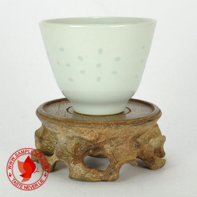 chinese tea 1980's Bai Yu Mei Tong Bei White Porcelain Teacup, 60ml @ www.sampletea.com