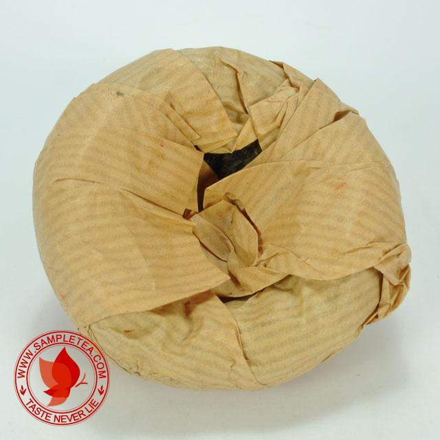 chinese tea 2003 CNNP Hong Yin Ye Sheng Tuo Bowl Tea, Green @ www.sampletea.com