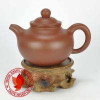 Chinese tea 1970's-1980's Yixing Factory 1 Di Cao Qing Lian Zi Hu Teapot, 100ml