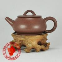 Chinese tea 1970's-1980's Yixing Factory 1 Di Cao Qing Shi Piao Hu Teapot 70ml