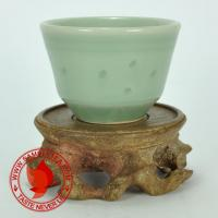 Chinese tea 1970's Zhejiang Celadon Long Quan Yao Qing You Bei Teacup, 60ml