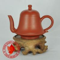 Chinese tea 1970's Yixing Zhuni Jin Zhong Hu Teapot, 60ml